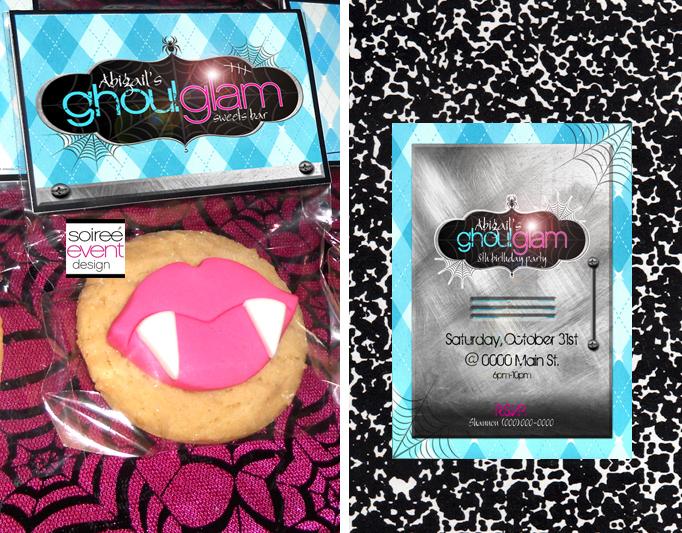 Monster High inspired Ghoul Glam printables