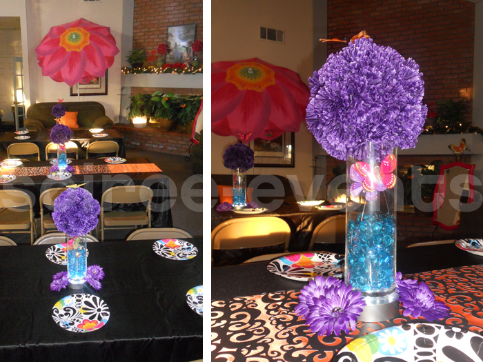 "Gothic Mad Hatter ""Un-Quinceanera"" - Soiree Event Design"