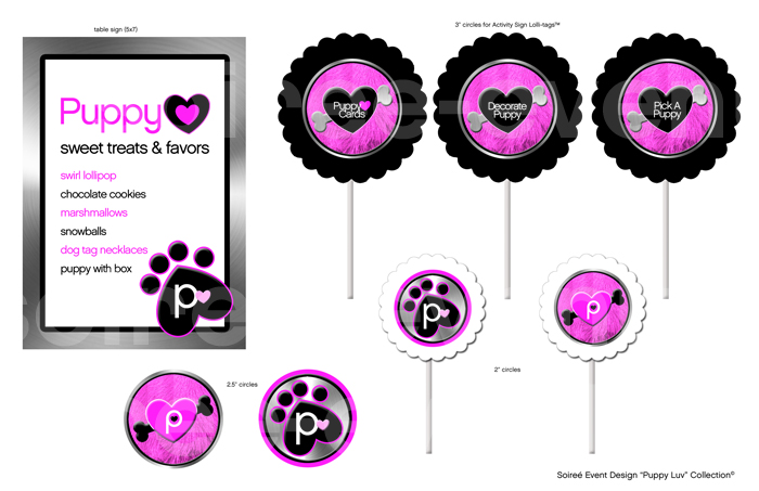 """Puppy Luv"" Design Collection –DIY download NOW AVAILABLE"