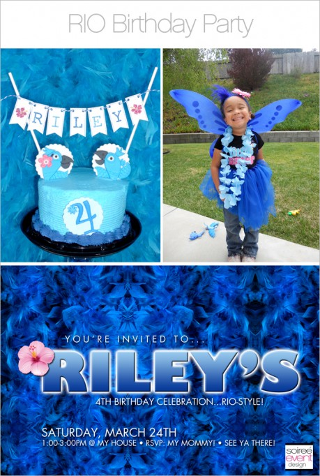 My Daughter's Rio Party!