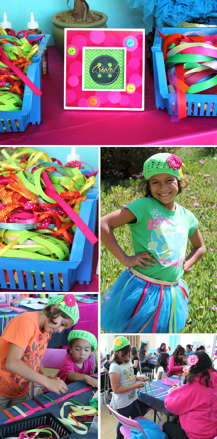 Lalaloopsy party decorations and Lalaloopsy activities and ribbon tutus