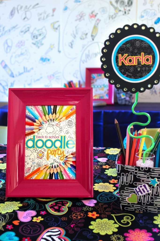 "Back to School ""Doodle Art Party!"" for $100"