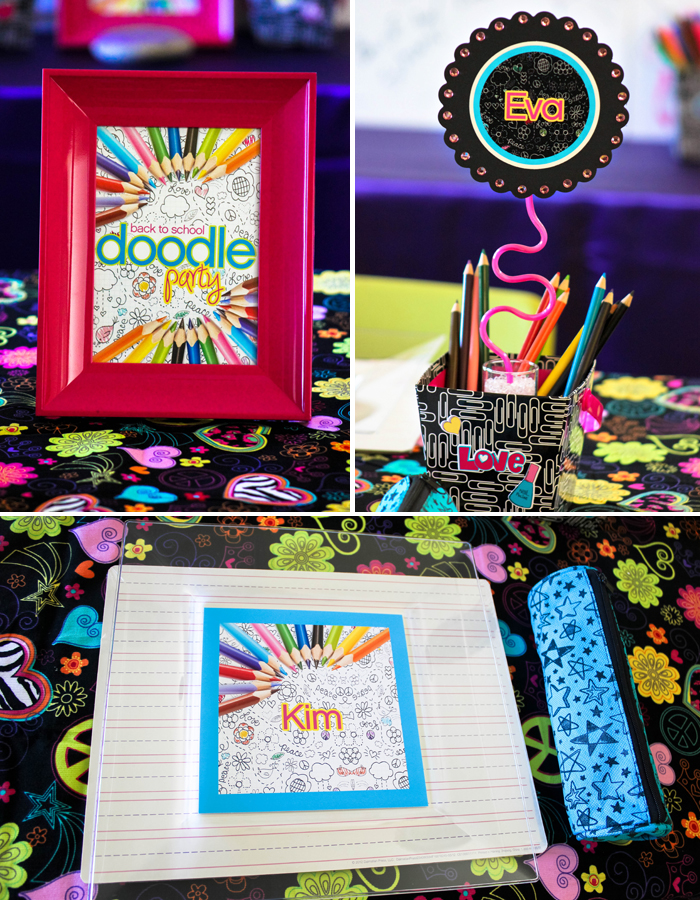 "{THROWBACK THURSDAYS} Back to School Party ""Let's Doodle!"""