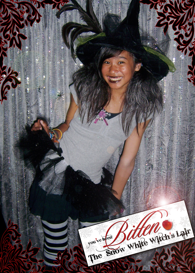 """Bitten"" Snow White Witch's Lair Photo Booth"