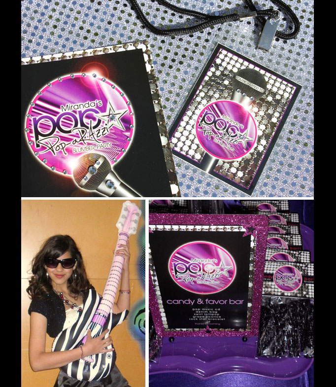 poparazzi pop star invitations