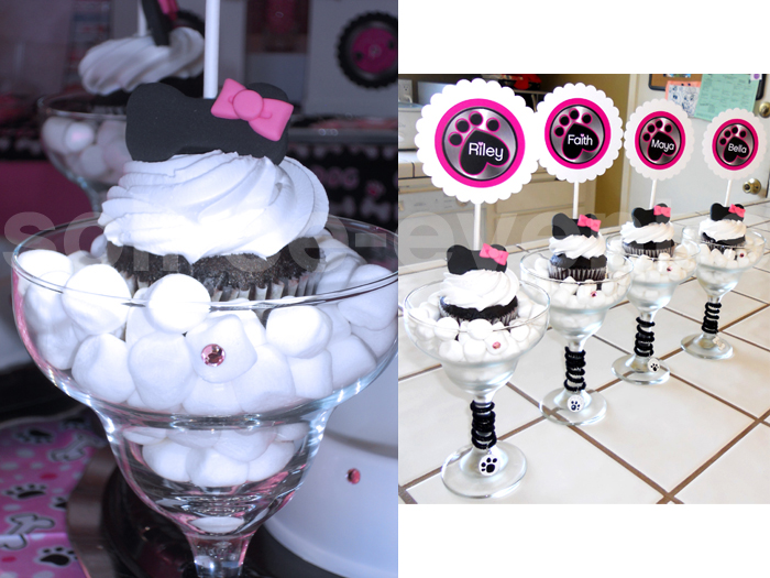 Puppy Love Cupcakes