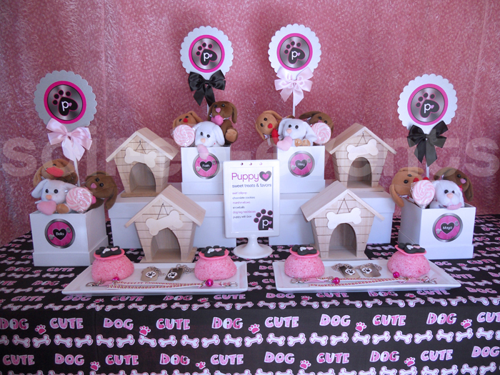 Puppy Love Favor Table