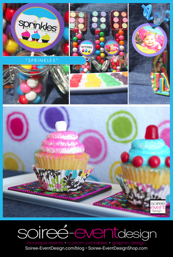 "6 Tips to Setting up a ""Sprinkles"" Cupcake Decorating Bar!"