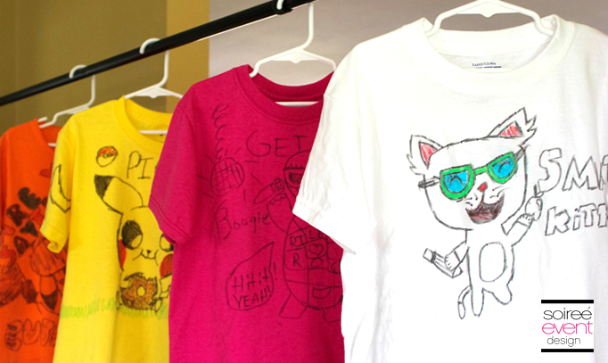 doodle-party-activity-tshirts