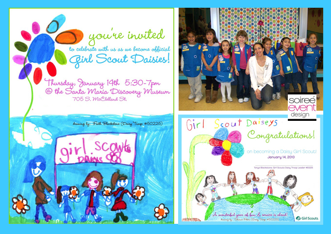 Girl Scout Week} Colorful Girl Scout Investiture Ceremony!