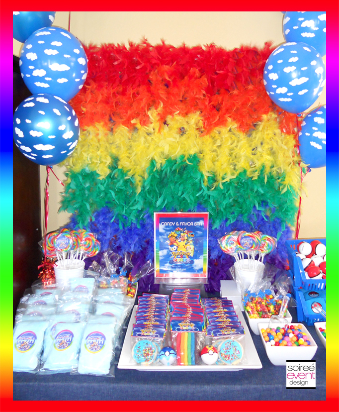 Pokemon-Rainbow-candy-table