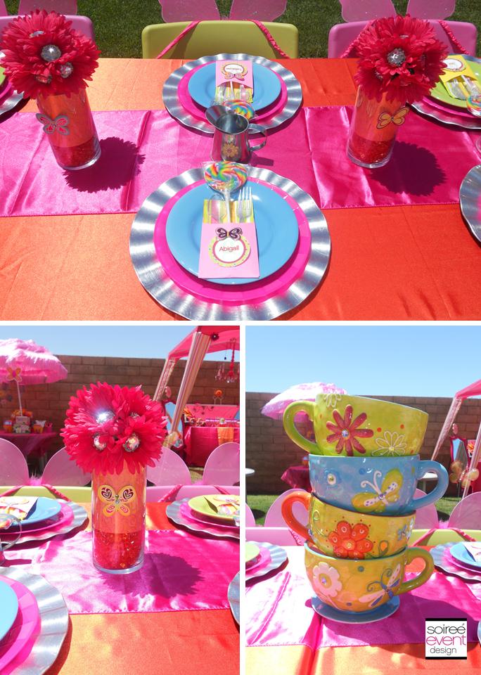 {Girl Scout Week} Whimsey Flower Garden Bridging Party!