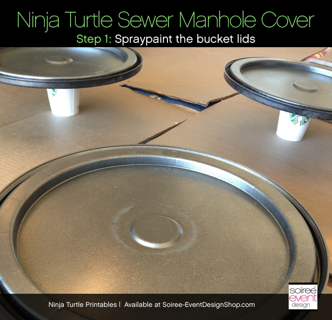 Ninja-turtle-party-sewer-cover-paint