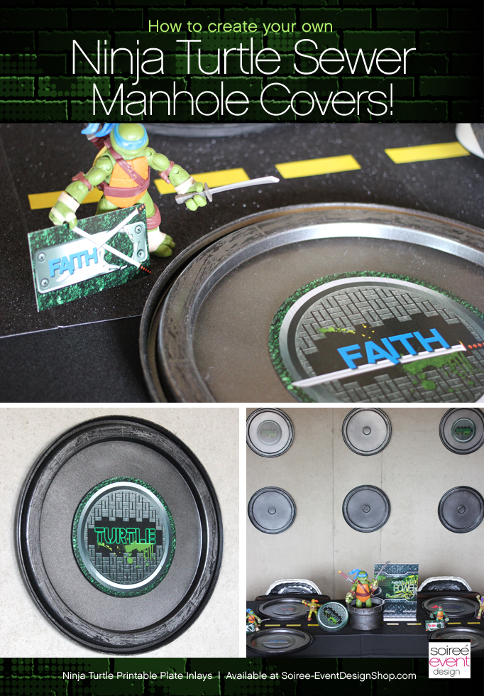 How to Make Teenage Mutant Ninja Turtles Sewer Manhole Covers!