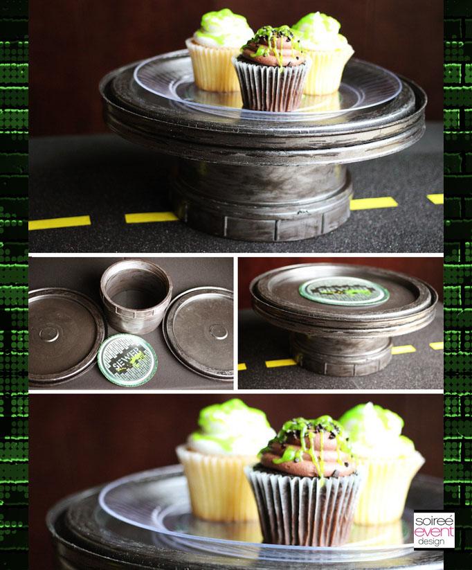 DIY-ninja-turtle-cupcake-stand-soiree