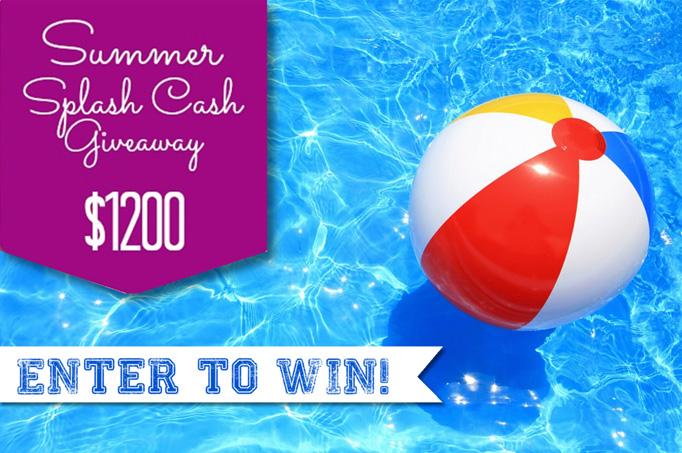 {GIVEAWAY} Splash Cash $1200 Giveaway!