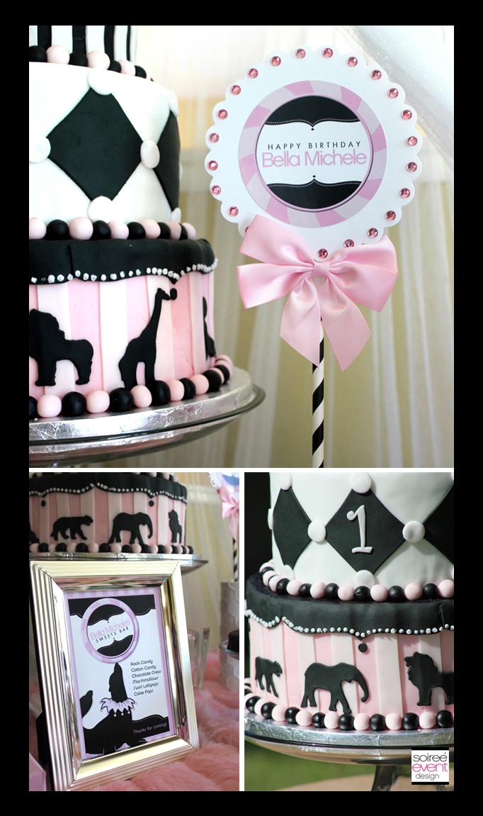 girly-circus-cake-2 & Cake Week: Girly Circus Cake! - Soiree Event Design