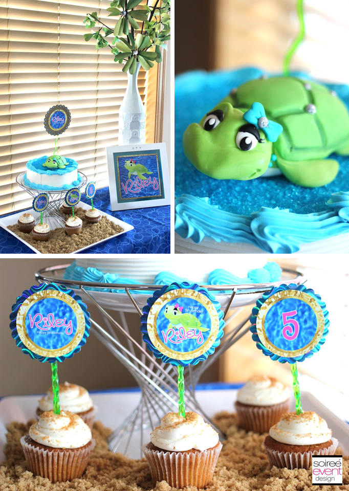 Sand And Sea Turtle Party Part 2 The Activities And Cake Soiree