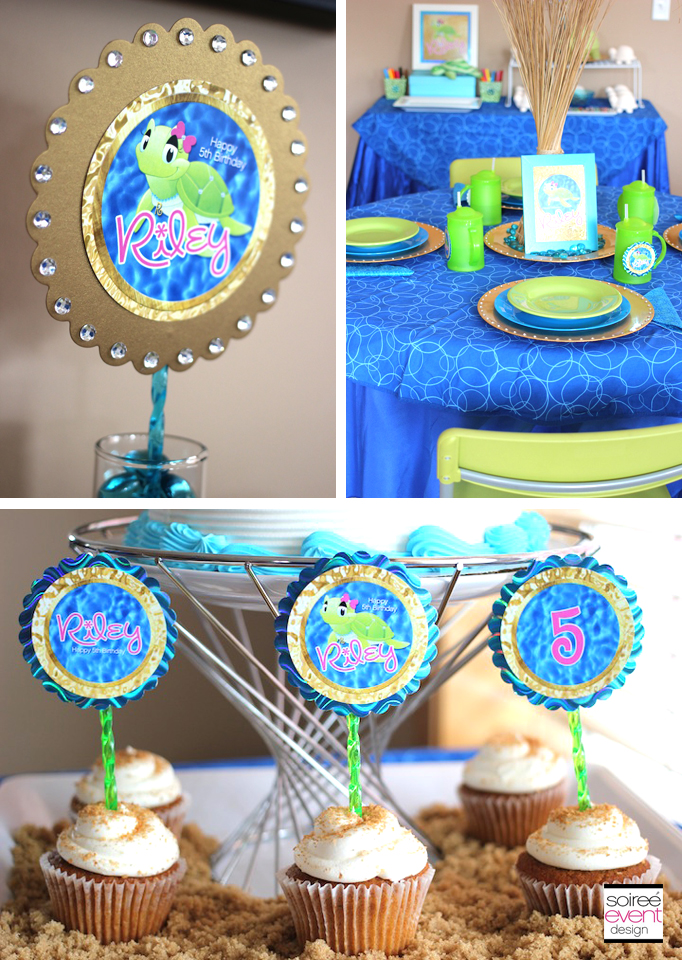 Sand And Sea Turtle Party Part 1 The Decor Soiree