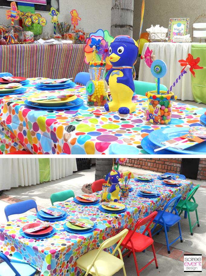 Character Week Backyardigans Party Decoration Ideas
