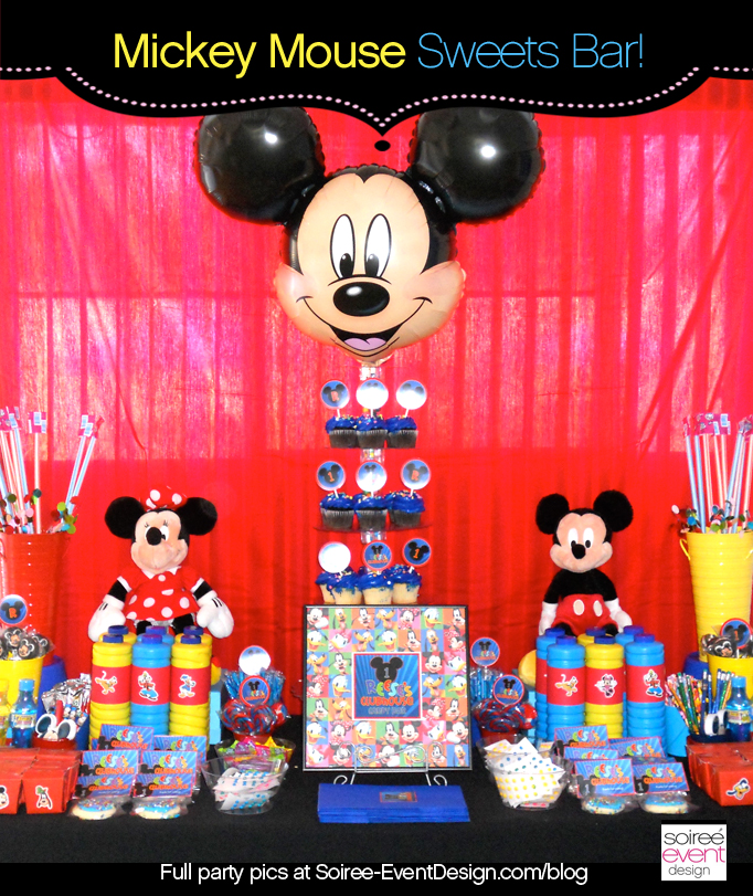 Character Week: Mickey Mouse Party Ideas