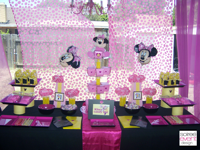 Minnie Mouse Party Ideas from Soiree Event Design