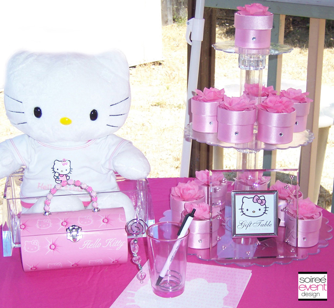 hello-kitty-party-decorations-2 & Character Week: Hello Kitty Party Ideas - Soiree Event Design