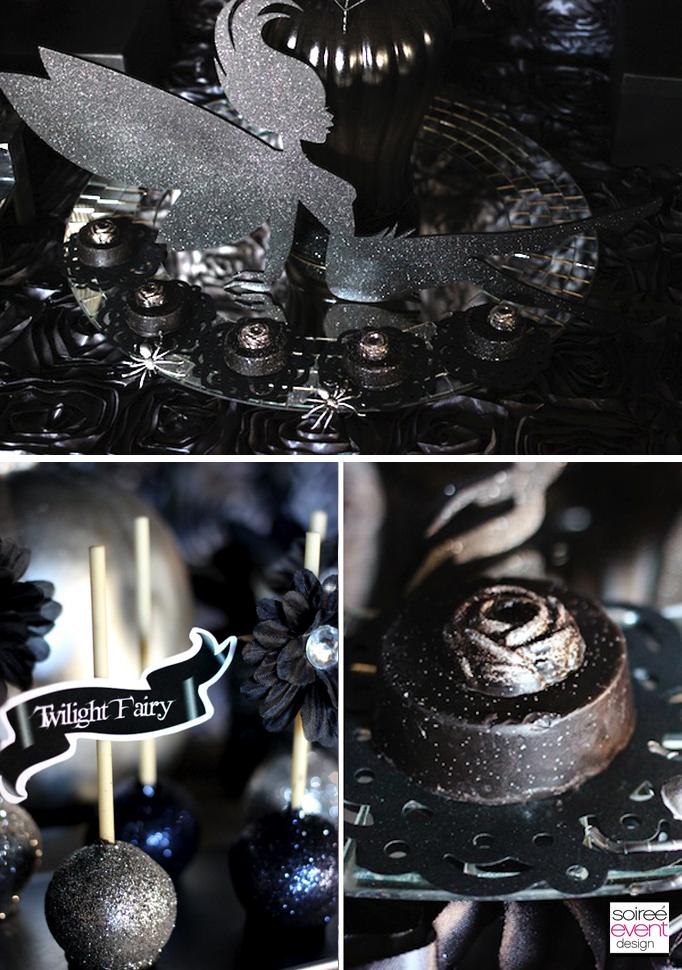 Black-glitter-desserts