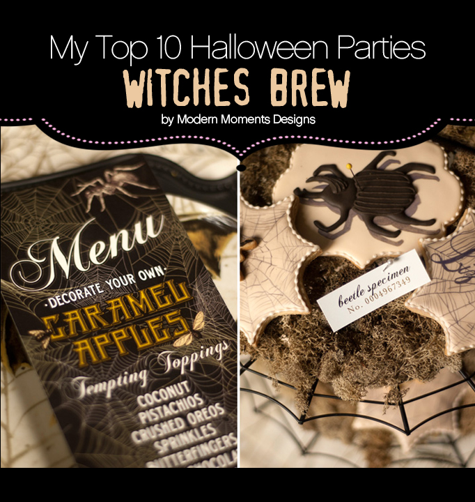 "My Top 10 Favorite Halloween Parties – ""Witches Brew"""