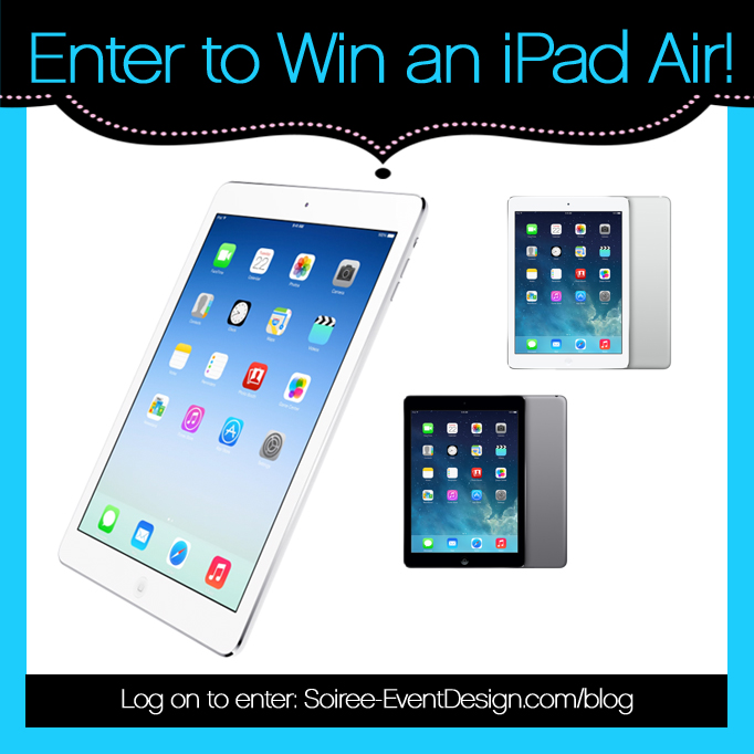 {GIVEAWAY} Enter to Win an iPad Air!