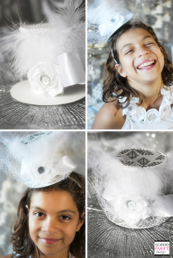 white-bridal-shower-top-hats-bridesmaids