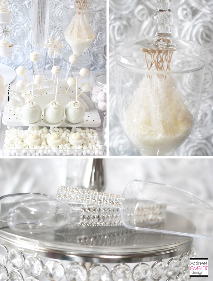 5ae7731061f Winter White Bridal Shower Sweets Table - The All White Color Trend ...