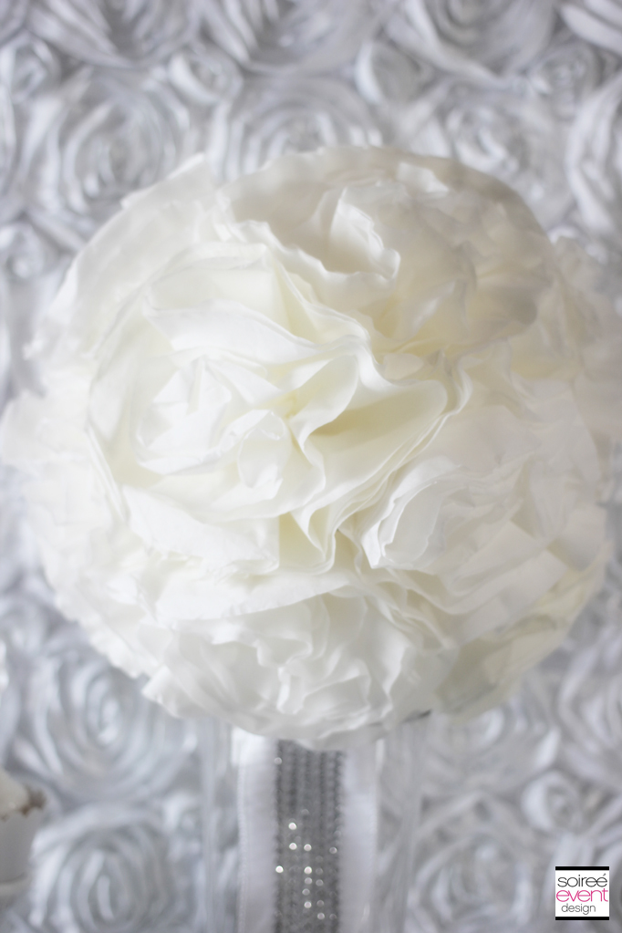 winter-white-bridal-shower-flower-poms