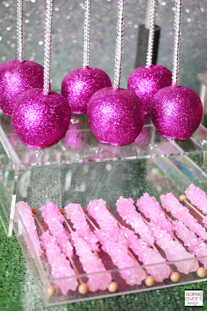Girly Football Sweets Table Soiree Event Design