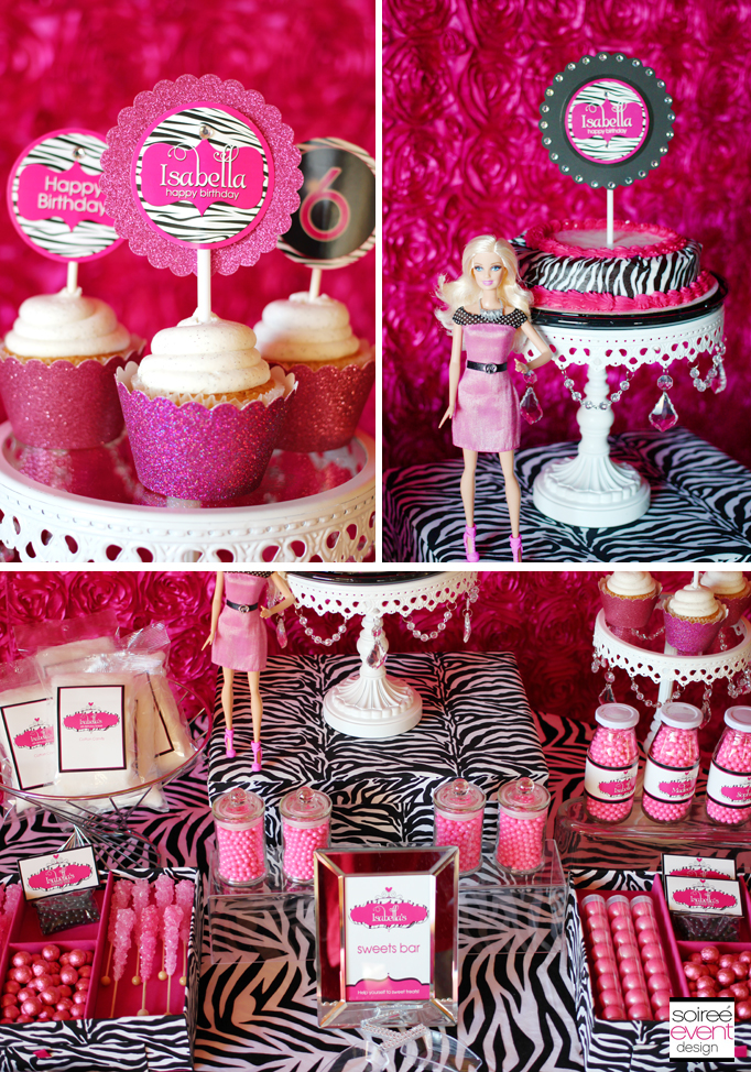 Barbie-party-cupcakes