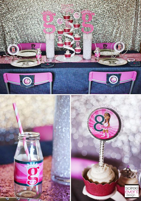 Quot Girlyz Lil Princesses Quot Princess Party Soiree Event Design