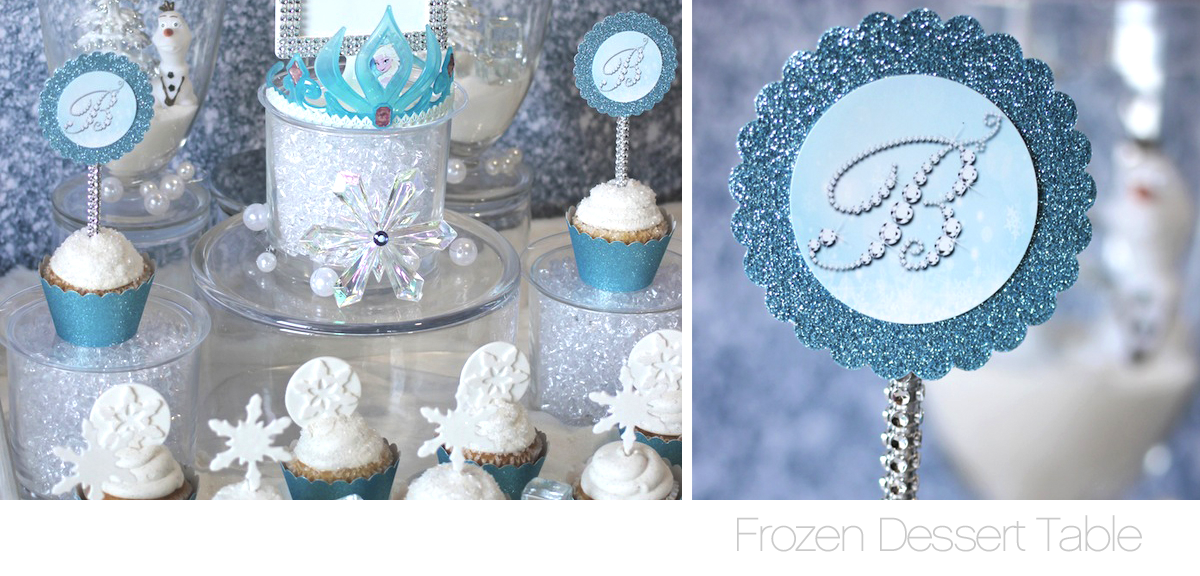 Frozen Sweets Table