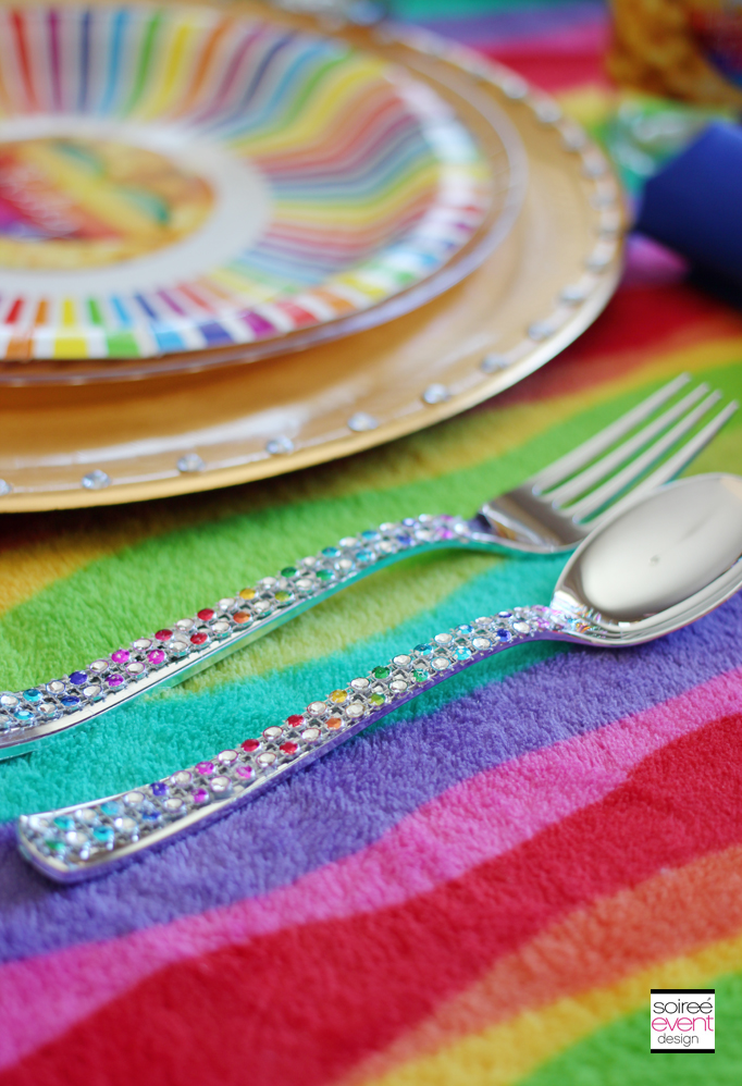 rainbow-bling-forks-spoons