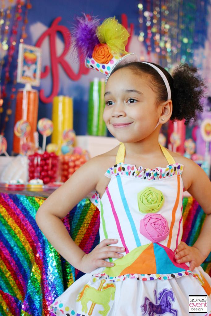 Sparkle Rainbow Candy Table My Little Pony Party Theme
