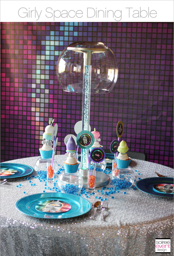 Girly-Space-party-Dining-Table