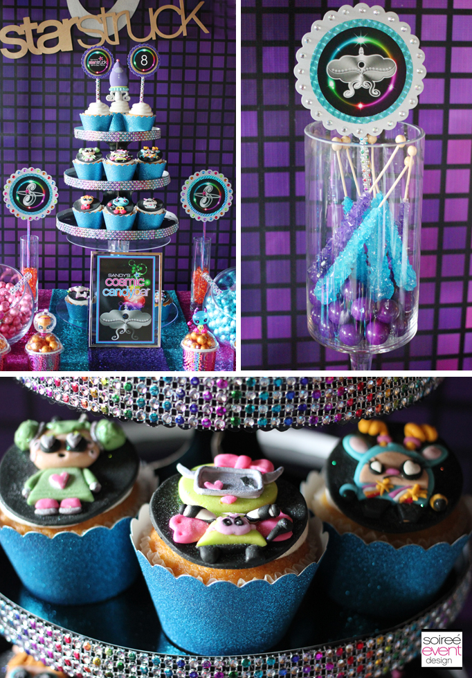 girly-space-bling-cupcake-stand