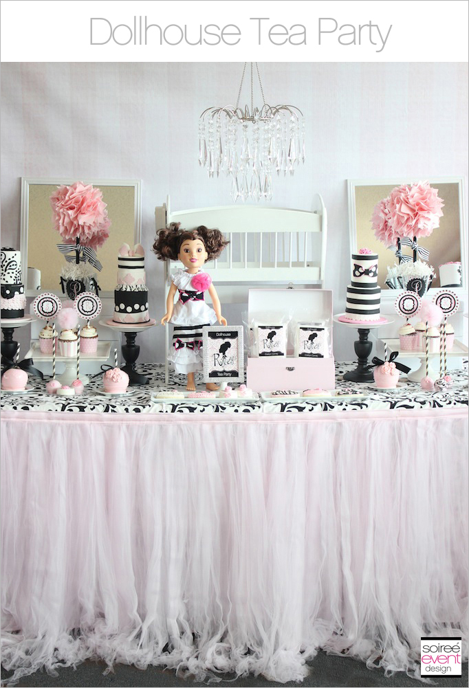 Trend Alert:  Dollhouse Tea Party