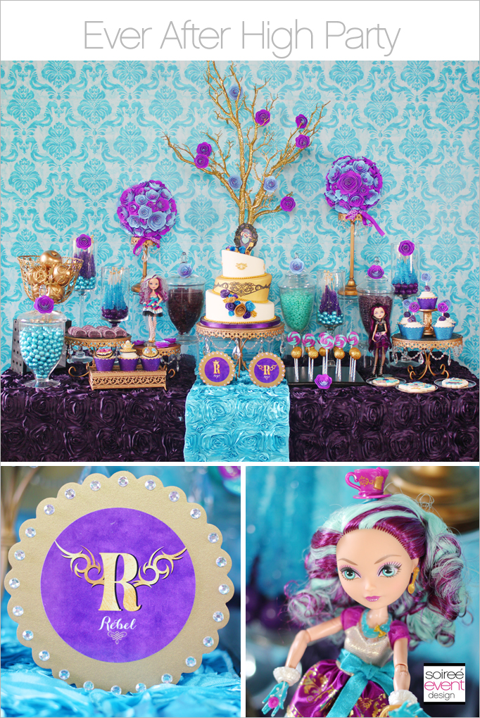 Trend Alert: Ever After High Party with Madeline Hatter