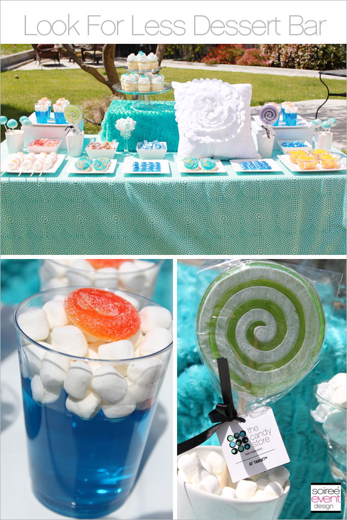 Look for Less: Budget Chic Summer Soiree Dessert Table
