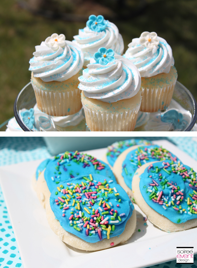cupcakes-blue-flower-toppers-cookies