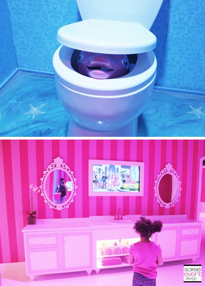 The Barbie Dreamhouse Experience Tour Soiree Event Design