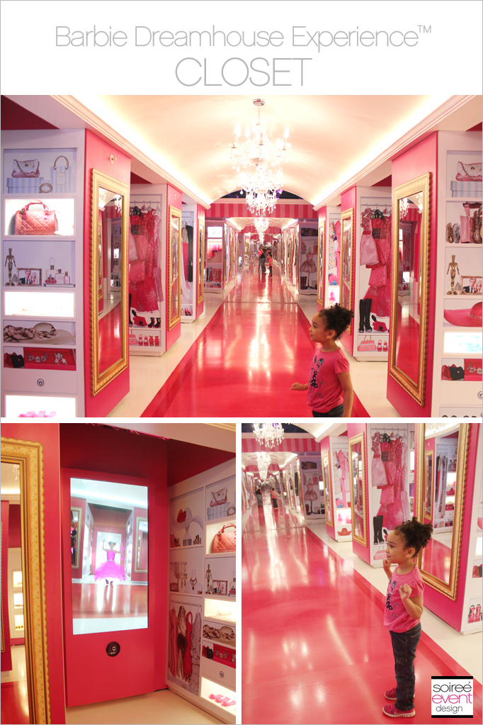 The Barbie Dreamhouse Experience Tour Soiree Event Design