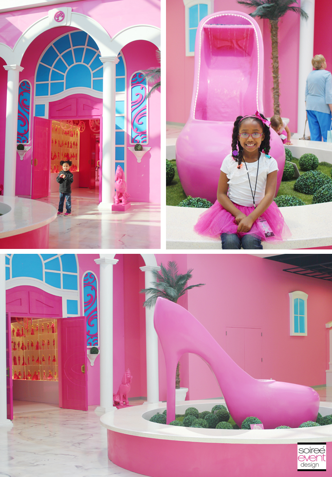Barbie-dreamhouse-entrance