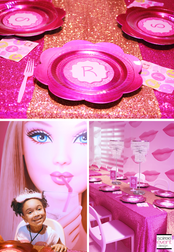 Barbie-party-custom-plates