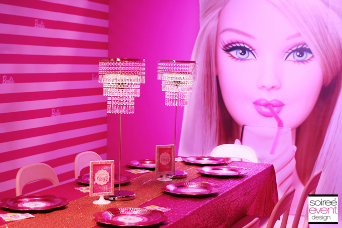 Barbie-party-decorations  sc 1 st  Soiree Event Design & Trend Alert: The Barbie Dreamhouse Experience™ Birthday Party ...